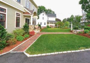 Landscape Construction Front lawn