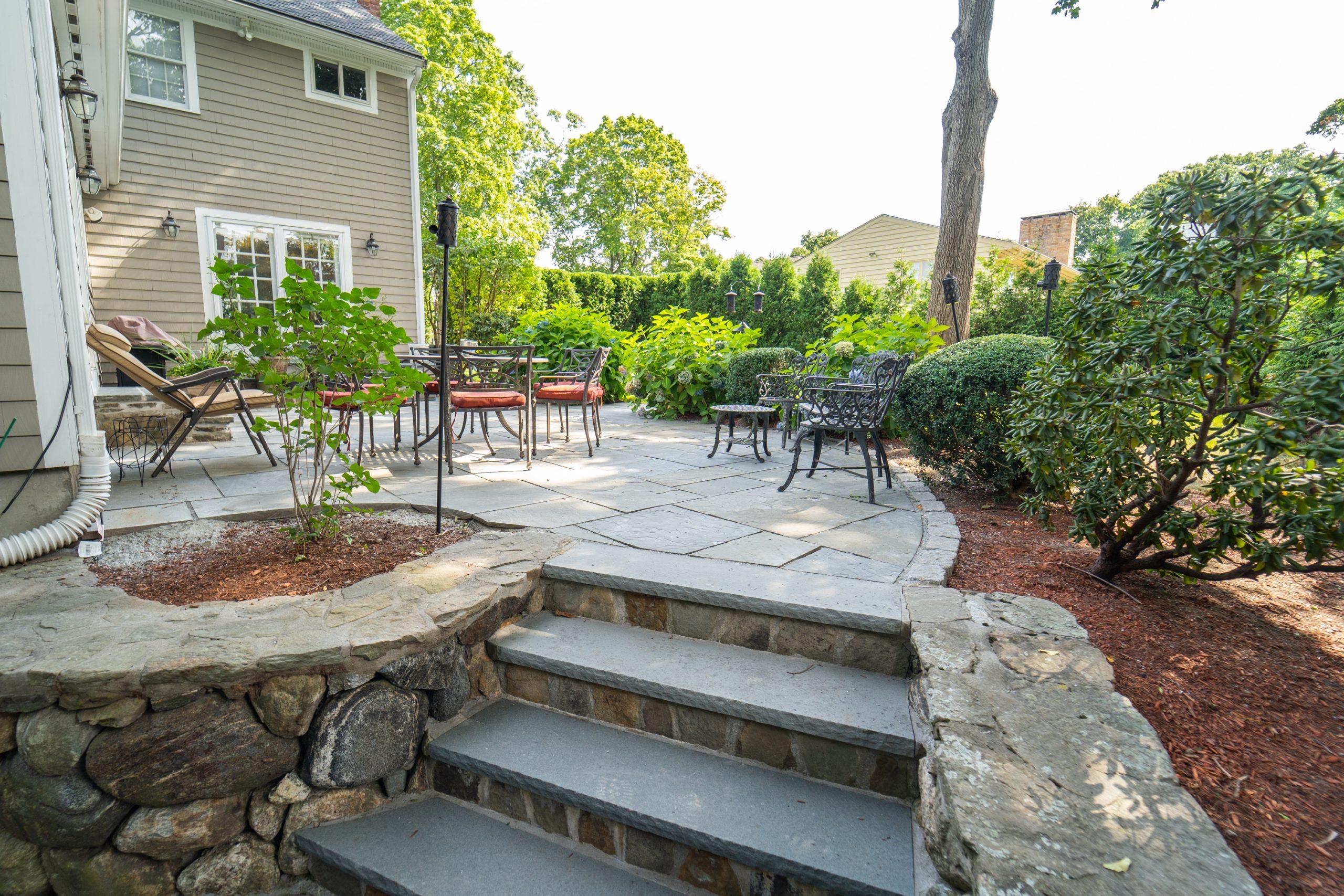 Backyard Stairway