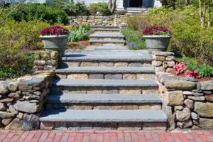 Masonry Stone Stairs