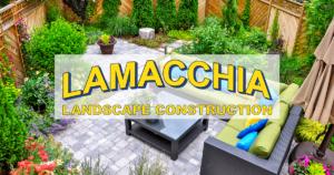 Lamacchia Landscape Construction Logo